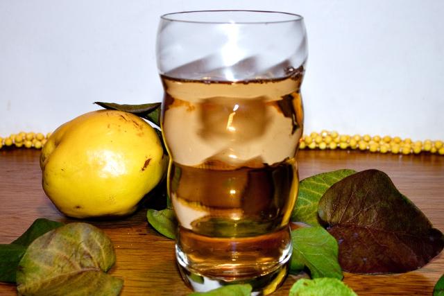 ceai din frunze de gutui