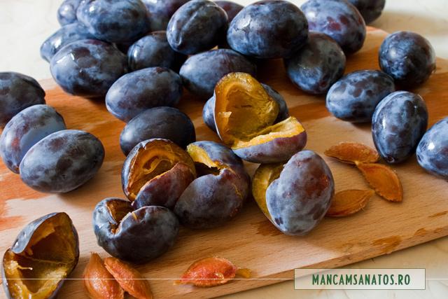 prune, pentru dulceata fara zahar