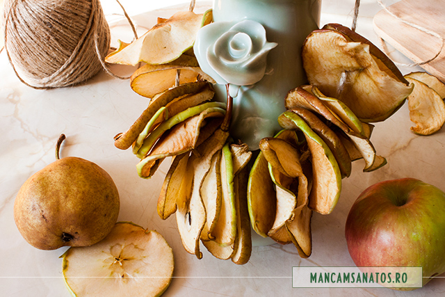 fructe conservate sanatos, prin deshidratare naturala