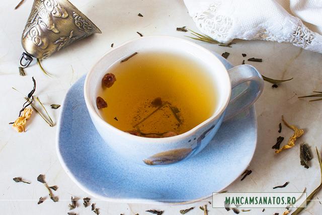 ceai verde, cu Bamboo green, nr 393