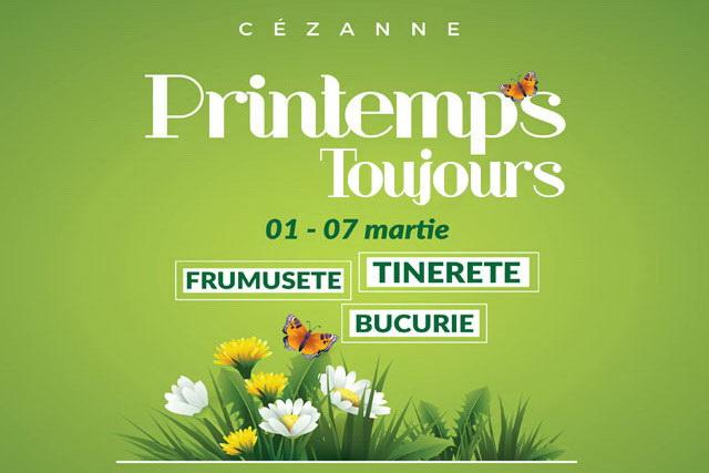 eveniment Preintemps Toujours- retaurant Cezanne