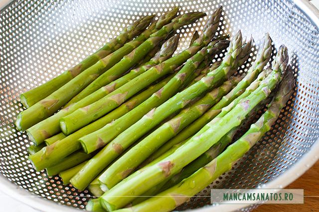 sparanghel (asparagus) fiert la aburi