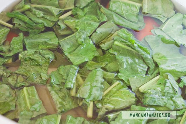 stevie adaugata la fiert, peste legume, pentru supa