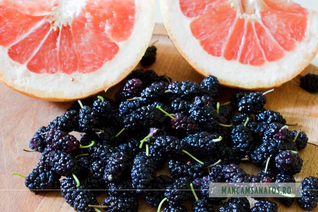dude negre si grapefruit, pentru nectar