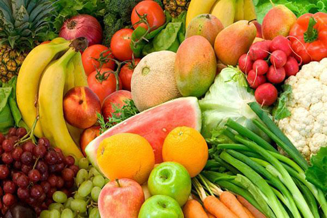 legume si fructe, pentru salate crude