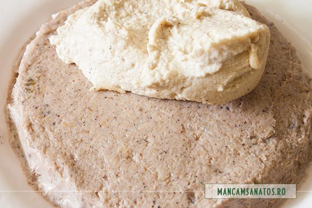 blat si crema pentru pasca raw, cu branza sarata de caju