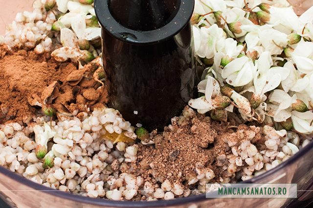 hrisca fiarta, flori de salcam, scortisoara si nucsoara, pentru crema