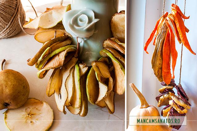 fructe si legume conservate sanatos prin deshidratare in aer liber