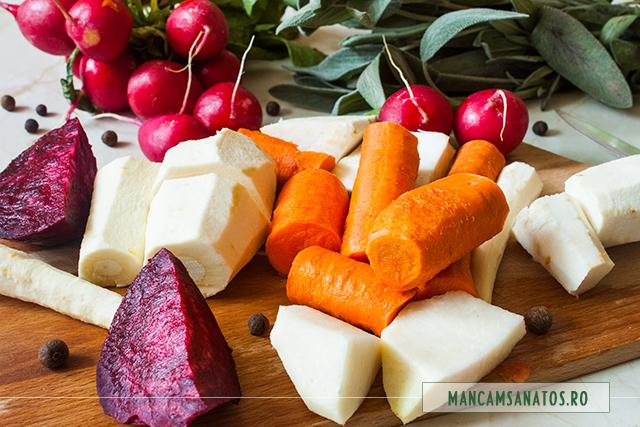 radacinoase pregatite pentru supa crema