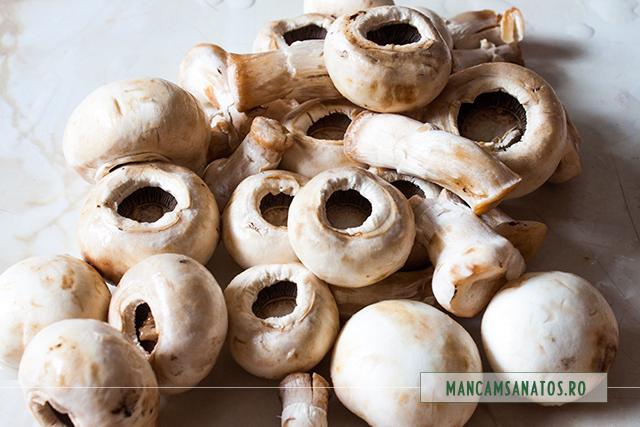 ciuperci crude, pentru marinat la rece