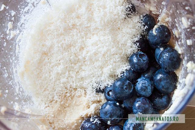 ingrediente pentru crema cu afine, pentru chesecake raw vgan