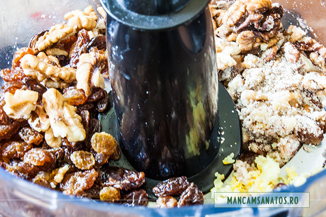 ingrediente pentru baza cupcakes raw vegane cu crema de menta si spirulina