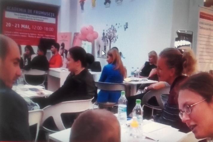 atmosfera eveniment nutritionisti Veranda Mall