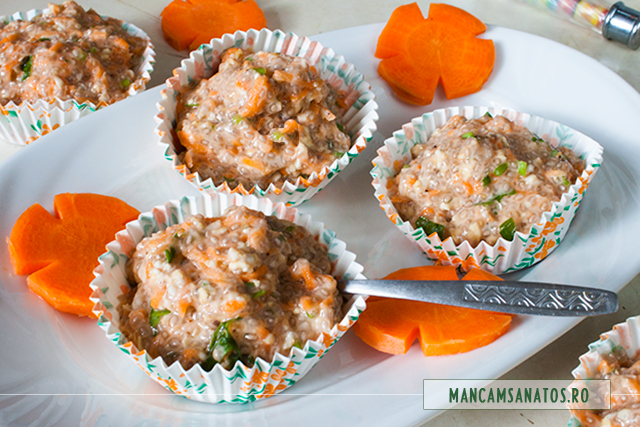 aperitiv raw vegan cu morcovi si seminte de chia