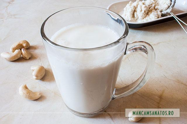 lapte de caju crud