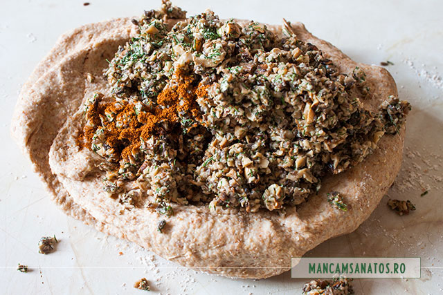 ciuperci preparate, peste aluat, pentru ciuperci in aluat integral vegetal nedospit, fulg de nea