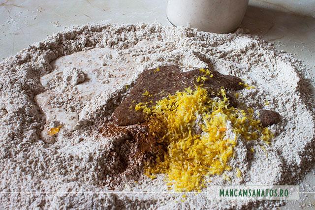 ingrediente pentru aluat prajitura cu dovleac din aluat integral cu lapte de migdale