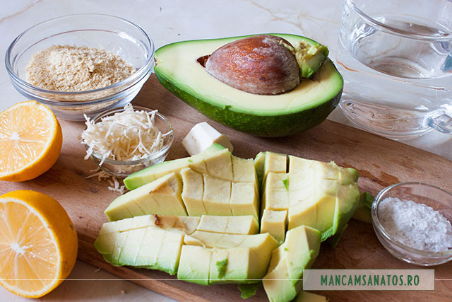 ingrediente sos raw vegan de avocado