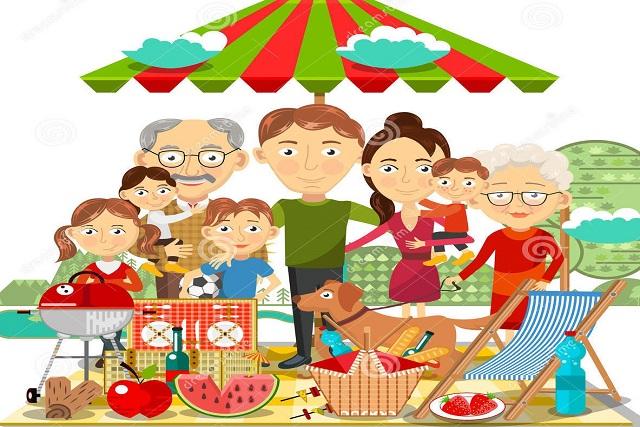 cum ne hranim sanatos si echilibrat-famillie la picnic