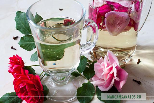 pa enzimatica, cu petale de trandafir si cuisoare