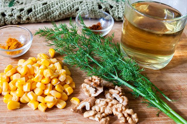 ceai de echinaceea si alte ingrediente, pentru smoothie imunitar