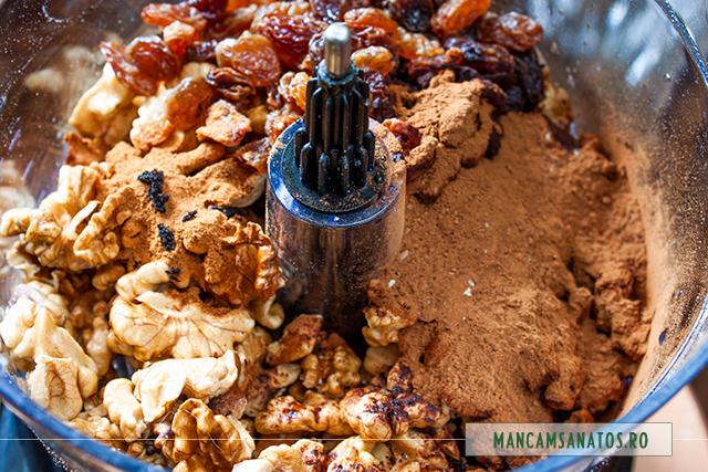 ingrediente pentru crema de cozonac raw vegan
