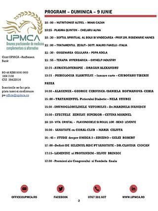 CONGRES UPMCA 2019-8-9 IUNIE 2019, a doua zi